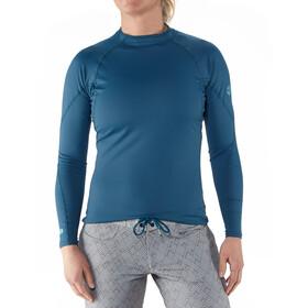 NRS Rashguard Pitkähihainen Paita Naiset, moroccan blue